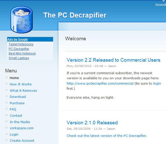 Decrapifier